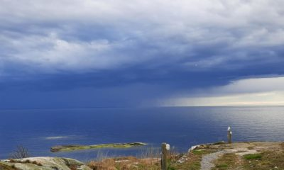 Övernattning med utsikt över öppet hav
