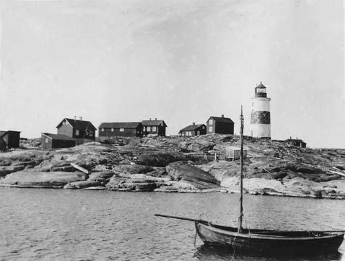 Fyrplatsen ca 1900