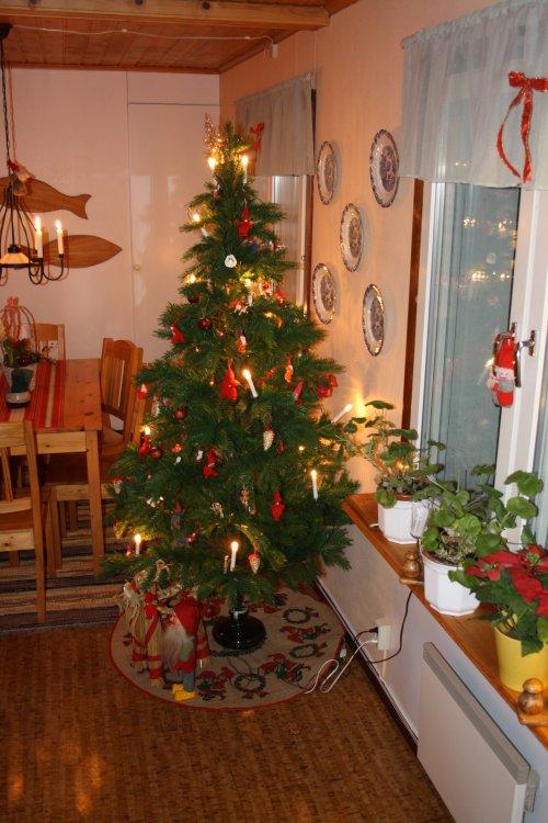 Jul i frukostmatsalen