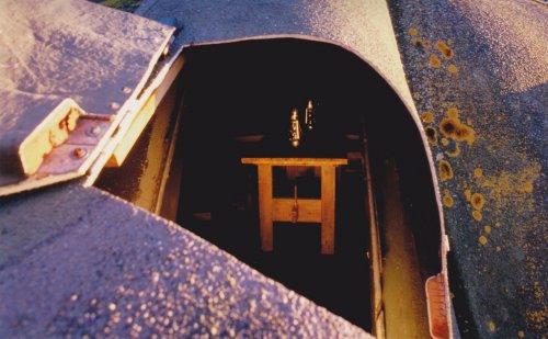 Interiör i kanonbaren