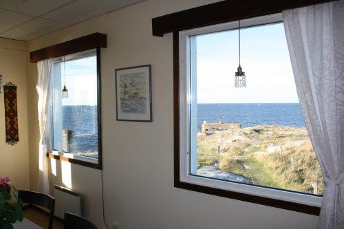 Utsikt från lilla matsalen